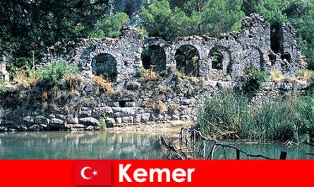 Kemer तुर्की के यूरोपीय भाग का प्रतिनिधित्व करता है