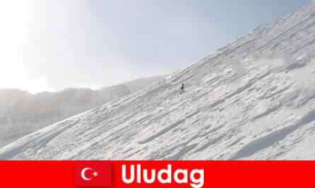 तुर्की उलुडाग में शीतकालीन छुट्टियां