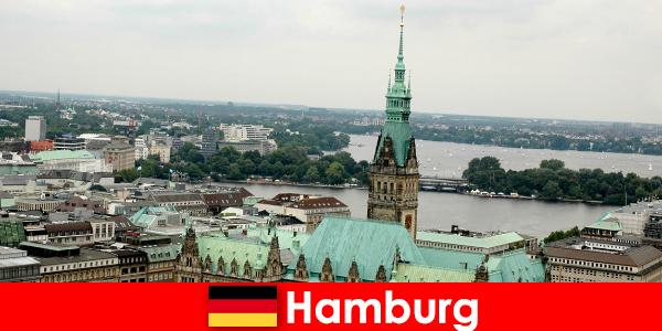 हैम्बर्ग शहर में रीपरबान के लिए यात्रा और मनोरंजन