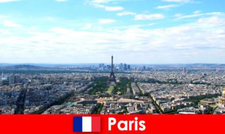 पेरिस के बड़े शहर में जगहें देखें