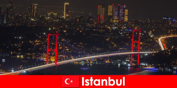 इस्तांबुल के पब, सलाखों और युवा लोगों के लिए क्लबों में नाइटलाइफ़