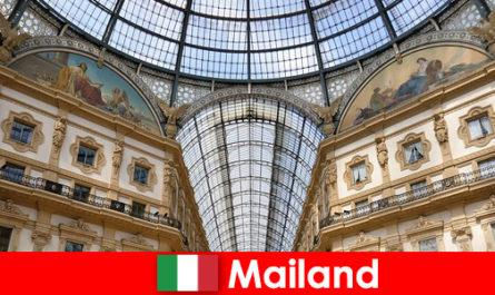 पुनर्जागरण प्रतीकों के साथ मिलान में रहस्यमय वातावरण
