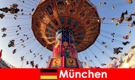 म्यूनिख में अंतर्राष्ट्रीय खेल आयोजन और ओक्टोबरफेस्ट मेहमानों के लिए एक चुंबक है