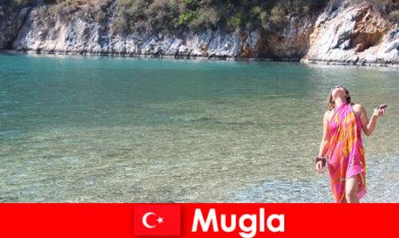 मुगला में समुद्र तट छुट्टियां, तुर्की की सबसे छोटी प्रांतीय राजधानियों में से एक