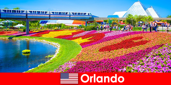 ऑरलैंडो कई थीम पार्क के साथ संयुक्त राज्य अमेरिका की पर्यटन राजधानी