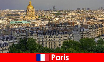 पर्यटकों को अपनी प्रदर्शनियों और कला दीर्घाओं के साथ पेरिस के शहर के केंद्र से प्यार है