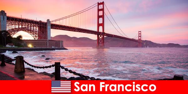 संयुक्त राज्य अमेरिका सैन फ्रांसिस्को में लक्जरी छुट्टियों का अनुभव