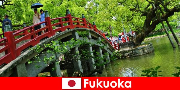 फुकुओका आप्रवासियों के लिए जीवन की एक उच्च गुणवत्ता के साथ एक आराम और अंतरराष्ट्रीय वातावरण है