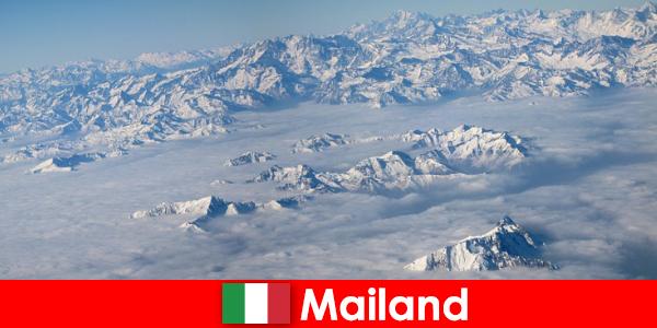 मिलान इटली में पर्यटकों के लिए सबसे अच्छा स्की रिसॉर्ट्स में से एक