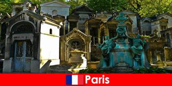 फ्रांस पेरिस में असाधारण दफन साइटों के साथ कब्रिस्तान प्रेमियों के लिए यूरोपीय यात्रा