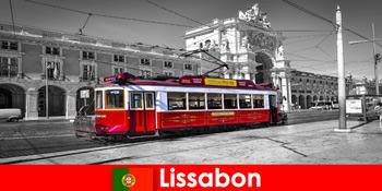 पुर्तगाल पर्यटकों में लिस्बन आप अटलांटिक महासागर पर सफेद शहर के रूप में पता है