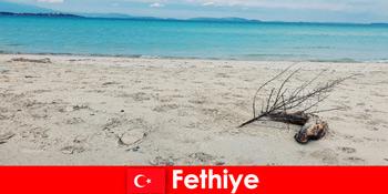 तुर्की रिवेरा Fethiye पर जोर दिया पर्यटकों के लिए मनोरंजन यात्रा