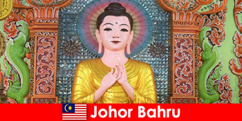 जोहोर बाहरू मलेशिया के लिए पर्यटकों के लिए छुट्टी संकुल और संस्कृति यात्रा