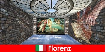 पुराने स्वामी के कला उत्साही के लिए फ्लोरेंस इटली के लिए शहर की यात्रा