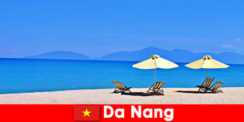 पैकेज पर्यटकों दा नांग वियतनाम में नीला समुद्र तटों पर आराम