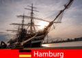 जर्मनी यात्रा पेटू के लिए मछली बाजार के लिए हैम्बर्ग के बंदरगाह में उतरना