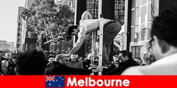 मेलबोर्न ऑस्ट्रेलिया में रचनात्मक छुट्टियों के लिए कला और संस्कृति