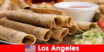 विदेशी आगंतुकों लॉस एंजिल्स संयुक्त राज्य अमेरिका में सबसे अच्छा रेस्तरां में एक बहुमुखी पाक घटना की उंमीद कर सकते है