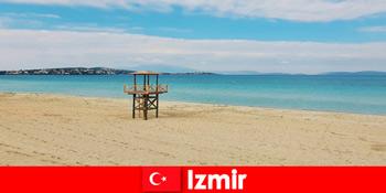 आराम छुट्टियों इज़मिर तुर्की में समुद्र तटों से मुग्ध कर रहे है