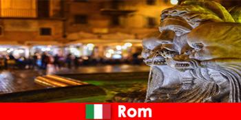 रोम इटली के अद्भुत शहर के माध्यम से साप्ताहिक मेहमानों के लिए बस यात्रा