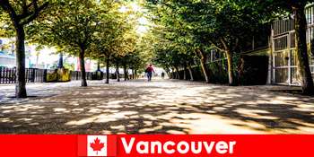 कनाडा वैंकूवर शहर गाइड स्थानीय कोनों में विदेश में छुट्टियों के साथ