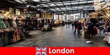 लंदन इंग्लैंड खरीदारी पर्यटकों के लिए शीर्ष पता