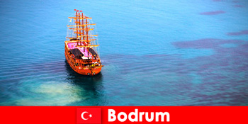 सुंदर Bodrum तुर्की में दोस्तों के साथ सदस्यों के लिए क्लब यात्रा