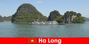 यात्रा समूहों के लिए बहु दिवस परिभ्रमण हा लांग वियतनाम में बहुत लोकप्रिय हैं